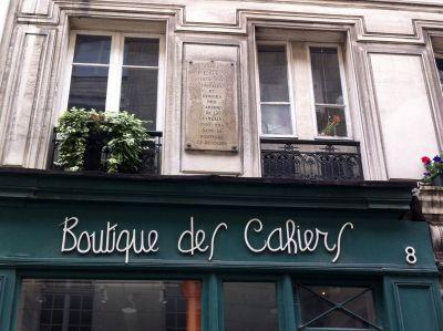 Boutique des cahiers Paris