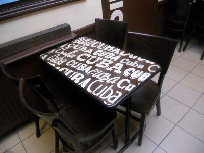 Table de bistro Calais