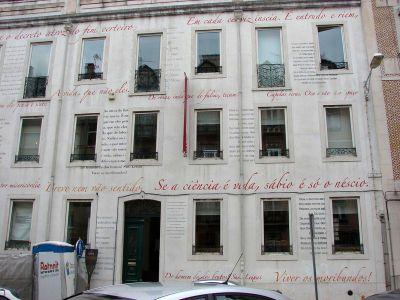 Casa Fernando Pessoa-Lisbonne 2012