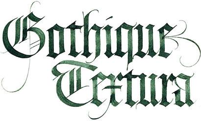 Interligne projet parmi tous les styles qui recouvrent lhistoire de la calligraphie latine la gothique textura reprsente le spcimen dont les lettres sont les plus thecheapjerseys Image collections
