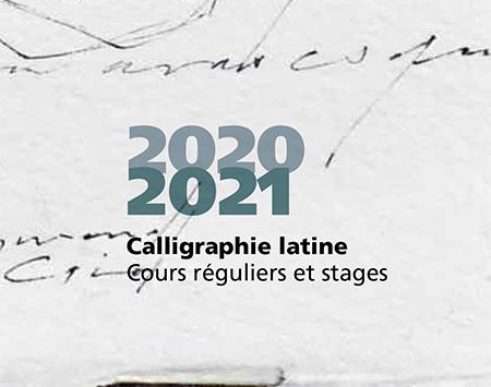 Calligraphie latine, association...