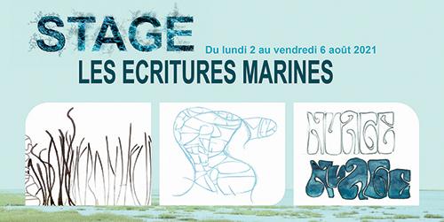 Les écritures marines